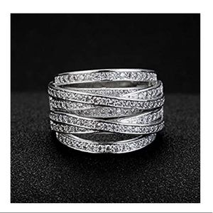 Multilayer CZ Ring